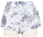 adidas by Stella McCartney Stella McCartney white run 2in1 shorts