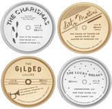 Kate Spade Metal Gifts Coasters Set Of 4