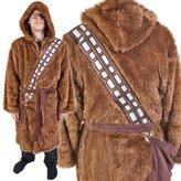 Star Wars Chewbacca Fleece Hooded Adult Robe
