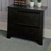 Bronx Clegg Elegant 2 Drawer Nightstand Ivy Color: Dark Brown