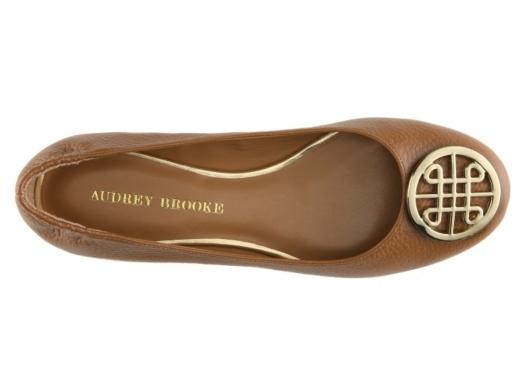 Audrey Brooke Kristin Ballet Flat