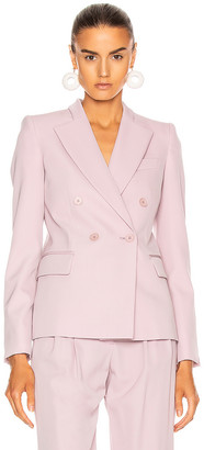 Stella McCartney Romy Tailored Blazer in Lilac | FWRD