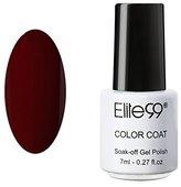 Qimisi Soak Off UV LED Color Gel Polish Lacquer Nail Art Manicure 7ml 1418 Burgundy
