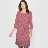 Anne Weyburn Softly Draping Printed Dress