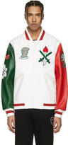 Opening Ceremony White Italy Global Varsity Jacket
