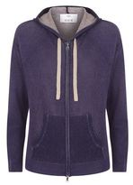 Allude Cashmere Hooded Cardigan