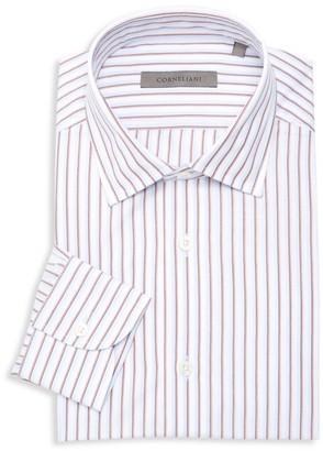 Corneliani Shadow Stripe Dress Shirt
