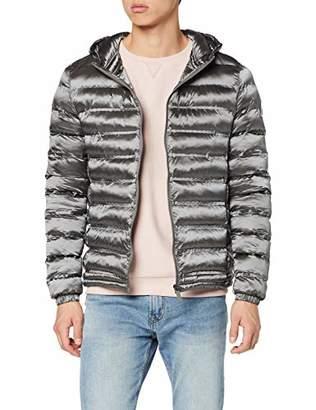 Invicta Men's Giubbino C/Cappuccio Rip Stop 40 Wonder Coat,(Size: Taglia Produttore L)