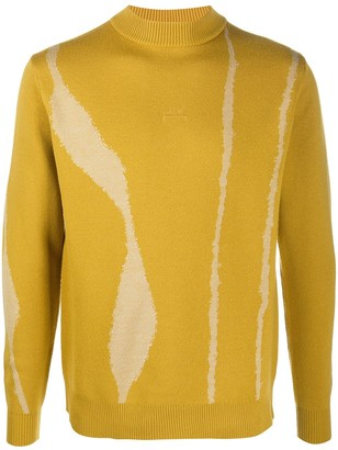 A-Cold-Wall* Patterned Wool Jumper