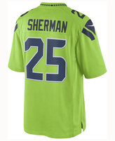 Nike Men's Richard Sherman Seattle Seahawks Limited Color Rush Jersey