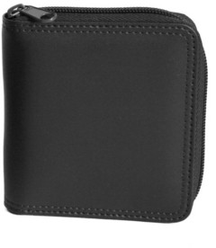 Emporium Leather Co Royce New York Zip Around Bifold Wallet