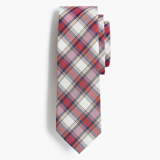 J.Crew Plaid cotton tie