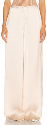 Jil Sander High Waisted Palazzo Pant in Rose | FWRD