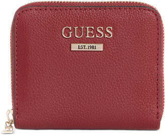 GUESS Maxxe Small Zip-Around Wallet