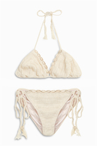 Anna Kosturova Triangle Shell Bikini