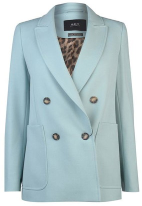 SET Womens Double Breasted Jacket