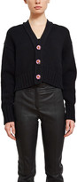 Opening Ceremony Cropped Knit Cardigan