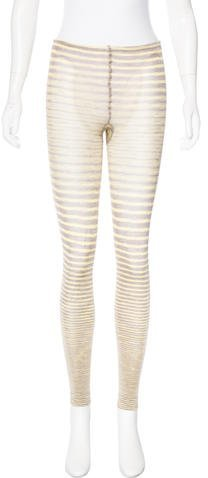 M Missoni Striped Knit Leggings w/ Tags