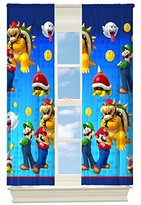 Nintendo Nintendo's Super Mario Defiant Mario Room Darkening Window Panel, 42 by 63-Inch