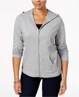 Karen Scott Hooded Active Jacket, Created for Macy's