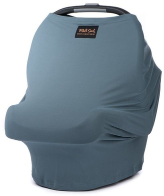 Milk Snob Luxe Premium Multipurpose Infant Car Seat Cover Jade