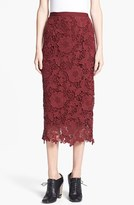 Elizabeth and James 'Garett' Lace Midi Skirt