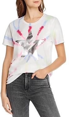 Aqua Lauren Moshi x Star Tie-Dye Tee - 100% Exclusive