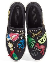 Marc Jacobs Women's Mercer Embellished Slip-On Sneaker