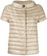 Herno high neck shortsleeved jacket