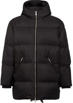 Prada Hooded Puffer Coat