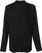 Ann Demeulemeester button blazer - men - Wool - XL