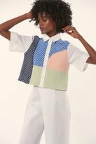 Mara Hoffman Woven Button Up Shirt