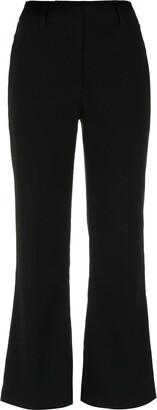 Martha Medeiros High Rise Cropped Trousers