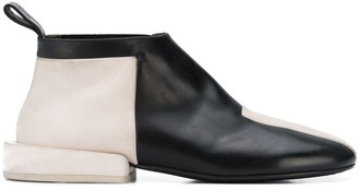 Marsèll Two-Tone Slip-On Ankle Boots