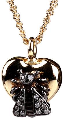 Gucci Heritage  18K 0.15 Ct. Tw. Diamond Le Marche Des Merveilles Bee Necklace