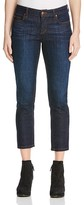 Eileen Fisher Straight Cropped Jeans in Deep Indigo - 100% Bloomingdale's Exclusive
