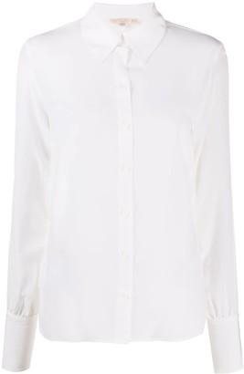 Gold Hawk Longsleeved Silk Shirt
