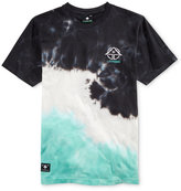Lrg Men's Washed Out Tie-Dye Logo T-Shirt