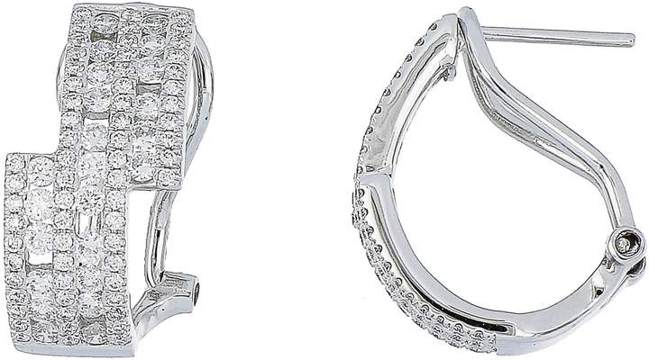Bony Levy Amara Luxe Diamond Hoop Earrings