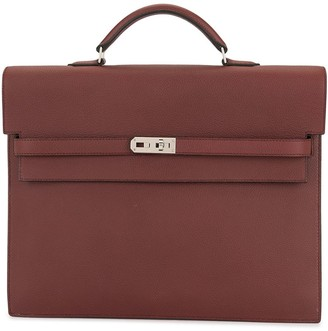 Hermes pre-owned Kelly Depeche 34 briefcase