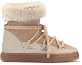 INUIKII Classic High Sneaker Boot Beige