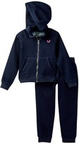 True Religion Indigo Hoodie & Sweatpant Set (Toddler Girls)