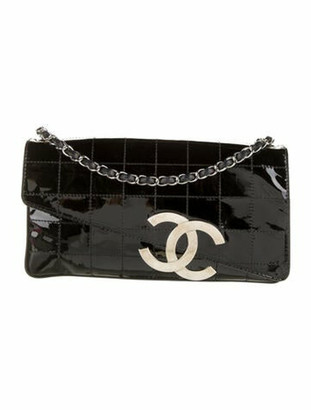 Chanel Diagonal CC Flap Bag Black