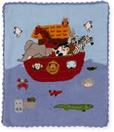 Artwalk Art Walk Kids' Noah's Ark Scalloped Blanket