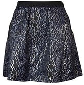 French Connection Women's Sparkle Ray Flared Skirt