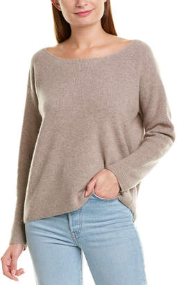 Monrow Off-The-Shoulder Wool & Cashmere-Blend Sweater