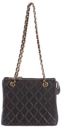 Chanel Quilted Caviar Tote