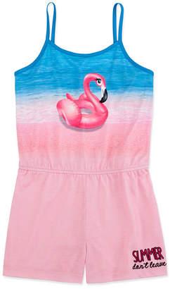 PEACE LOVE AND DREAMS Peace Love And Dreams Girls One Piece Pajama Sleeveless
