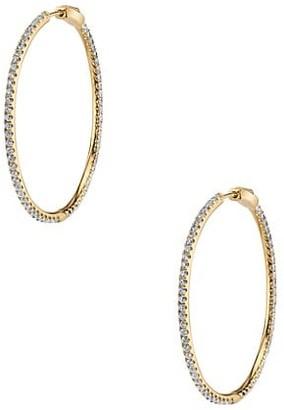 Anita Ko Fonda 18K Yellow Gold & Diamond Hoop Earrings