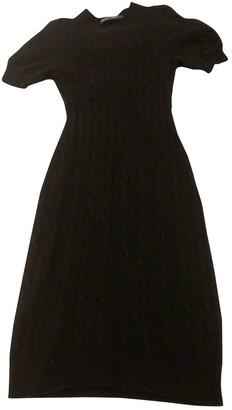 Ralph Lauren Black Wool Dresses